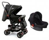Diamond Baby P 101 Çift Yönlü Travel Sistem Bebek Arabası - 6 Renk - Ayak Örtüsü Yağmurluk Dahil