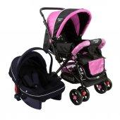 Diamond Baby P 101 Çift Yönlü Travel Sistem Bebek Arabası - 6 Renk - Ayak Örtüsü Yağmurluk Dahil-6