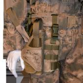 Taktik Tabanca kılıfı ve Bacak Platformu, Sağ, Jandarma Kamuflajı-2