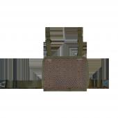 Taktik Tabanca kılıfı ve Bacak Platformu, Sağ, Jandarma Kamuflajı-4