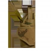 Taktik Tabanca kılıfı ve Bacak Platformu, Sağ, Jandarma Kamuflajı-5