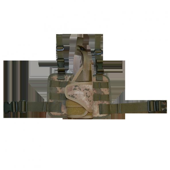 Taktik Tabanca kılıfı ve Bacak Platformu, Sağ, Jandarma Kamuflajı