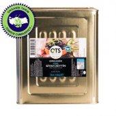 Ots Organik Gemlik Yağlı Salamura Siyah Zeytin 10 Kg