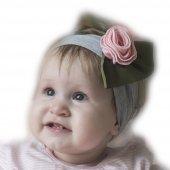 Babygiz Gül Bandana Nba248