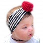 Babygiz Çiçek Aksesuarlı Bandana Nba079