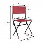 Prado Katlanır Çantalı Kamp Piknik Balıkçı Masa Sandalye Seti-2