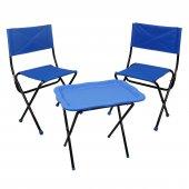 Prado Katlanır Çantalı Kamp Piknik Balıkçı Masa Sandalye Seti-6