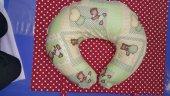 Bebek Emzirme Yastığı Oturma Yastığı Minderi 6 FARKLI MODEL-3