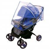 Bebek Arabası Yağmurluğu Mavi