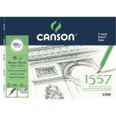 Canson 1557 Resim Ve Çizim Blok 120gr 25x35 15 Yaprak