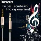 Baseus Fluency Aux Kablo Ses Uzatma Kablosu 120cm