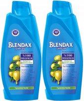 Blendax Yıpranmış Saçlar İçin Şampuan 550 Ml*2...