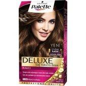 Palette Deluxe 5 5 Altın Parıltılı Çikolata Saç...