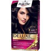 Palette Deluxe 1 0 Siyah Saç Boyası