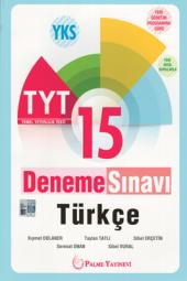 Palme Yayınevi Yks Tyt Türkçe 15 Deneme Sınavı