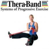 Theraband Egzersiz Bandı Pilates Bandı Lastiği 1.5 Metre Paketli