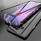 Samsung S7 Edge G935 Kılıf 360 Mıknatıslı Metal Bumper-2