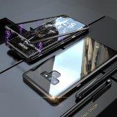 Samsung S7 Edge G935 Kılıf 360 Mıknatıslı Metal Bumper-5