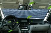Araba Güneşlik Ön Cam Güneş Koruyucu Yalıtım Paneli Otomatik Geri