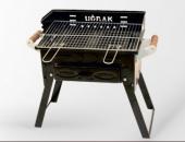 Kömürlü Mangal Piknik Barbekü Pervazlı Fırınlı KATLANIR AYAKLI-2