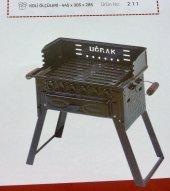 Kömürlü Mangal Piknik Barbekü Pervazlı Fırınlı KATLANIR AYAKLI-5