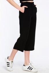 Sırakuza - Rahat Kesim Siyah Pantolon | 160033-1-4
