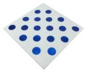 Peçete Beyaza Mavi Puantiyeli 33x33cm 16 Adet