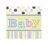 Kağıt Peçete Baby (Tıny Bundle) 33x33 16 Adet