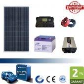 Güneş Enerjisi Paneli Tv Aydınlatma Paketi