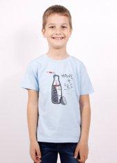Kız Çocuk Cola Baskılı Tişört