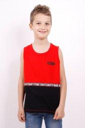 Erkek Çocuk Şeritli Atlet