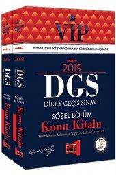 2019 Dgs Vıp Sayısal, Sözel Bölüm Konu Seti...