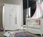 Lilyum Bebek Odası Dolap Gardırop