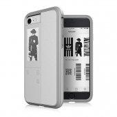 Oaxis Inkcase Ivy İphone Uyumlu Akıllı Kılıf (Beyaz)