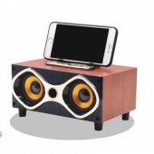 Portatif Wireless Speaker Telefon Standlı Blue Sd ...