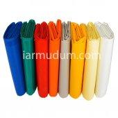 (14 Mt X 65 Cm) Ebatlı Pvc Polyester Balkon Brandası En 65cm 430 Gr M