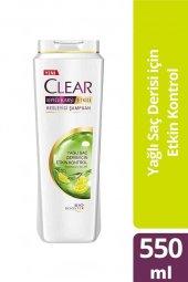 Clear Şampuan Yağlı Saç Derisi İçin Etkin...