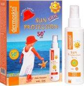 Dermoskin Sun Kids Spf 50 Şapka Hediyeli Paket - Güneş Kremi-2