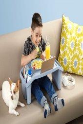 Mavi Çok Amaçlı Çocuk Hobi Masası