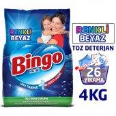 Bingo Renkli&beyaz Toz Çamaşır Deterjanı 4 Kg