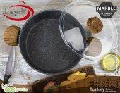 Leydi Marble Granit Karnıyarık Tencere 30cm-3