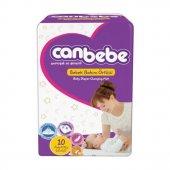 Canbebe 10lu Bebek Bakım Örtüsü 60x60 Cm