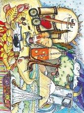 EUROSER Yaz Adası Çizgileri Desenli Çocuk Halısı-2