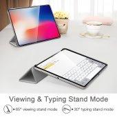 iPad Pro 11 Kılıf, ESR Yippee,Silver Gray-12