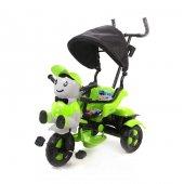 Babyhope Yupi Panda Triycle Yeşil Bj 03125y