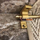 Gul 2 Merdiven Halı Dip Çubuğu Takımı Kalın Ayak Gold 5 Parça