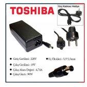 Toshiba Satellite Tüm Modeller İçin Notebook Adaptör Şarj Aleti