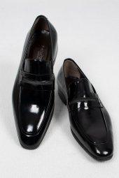 Deepsea Siyah Metal Detaylı Klasik Rugan Deri Ayakkabı 2001048