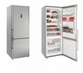 Silverline R12071x01 Buzdolabı, Çift Kapılı, Inox