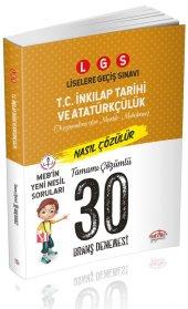 Editör Yayınları 8. Sınıf LGS T. C. İnkılap Tarihi ve Atatürkçülü